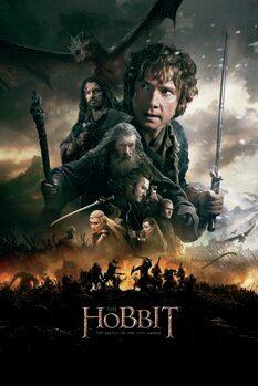 Plakat Hobbiten - Femhærerslaget