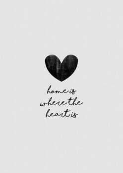 Ilustración Home Is Where The Heart Is