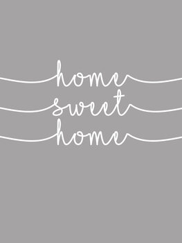 Ilustrace Home sweet home