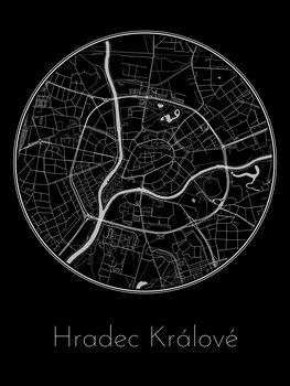 Mapa Hradec Králové