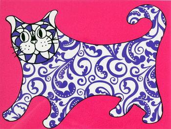 Artă imprimată I am not a decorative object, Pink, 2015,