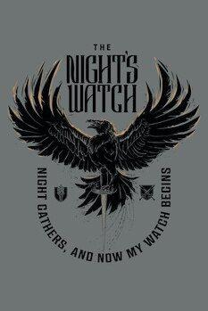 Poster Igra prestolov - The Night's Watch