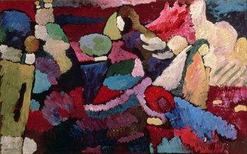 Improvisation, 1910 Reproduction de Tableau