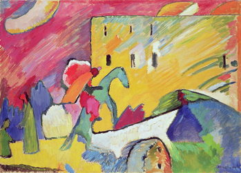 Improvisation III, 1909 Reproduction d'art
