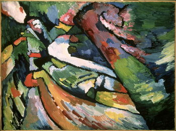 Improvisation VII, 1910 Reproduction de Tableau