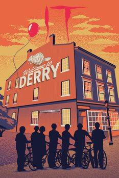 Umelecký tlač IT - Welcome to Derry