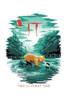 Umelecký tlač IT - You will float too