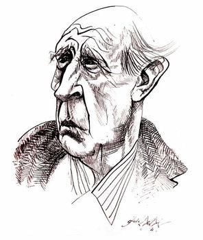 Kunstdruk J R R  Tolkien