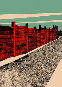 Obrazová reprodukce Jarrah Wall, 2014