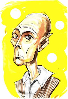 Reproduction de Tableau Jasper Carrott - caricature