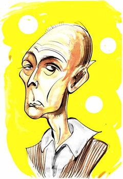 Reprodukcija umjetnosti Jasper Carrott - caricature