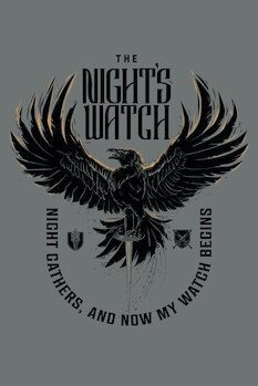 Poster Juego de tronos - The Night's Watch