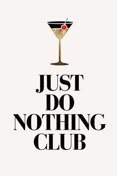 Ilustracja Just Do Nothing