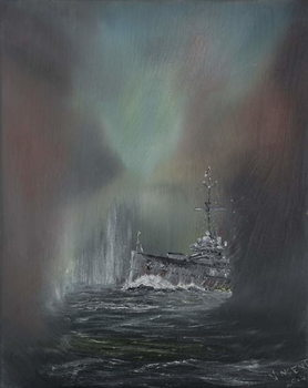 Kunstdruk Jutland May 31st 1916, 2014,