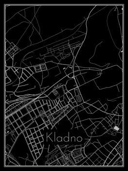 Mapa Kladno