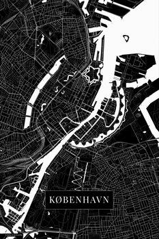 Mapa København black