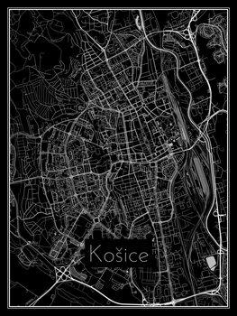 Mapa Košice