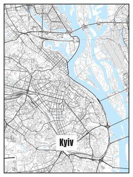 Mapa Kyiv