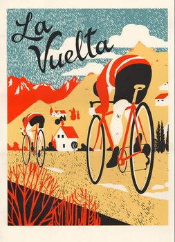 Obrazová reprodukce La Vuelta, 2015