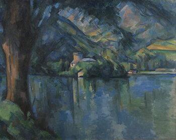 Artă imprimată Lac d'Annecy