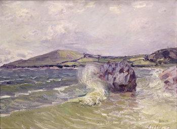 Obrazová reprodukce  Lady's Cove, Wales, 1897