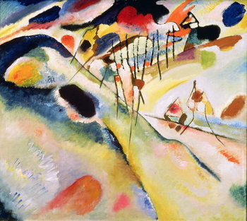 Landscape, 1913 Reproduction de Tableau