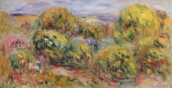 Kunsttryk Landscape, 1916