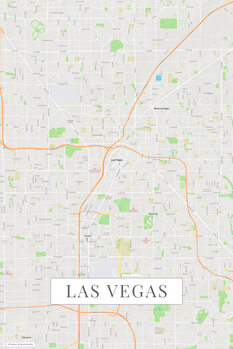 Mapa Las Vegas color