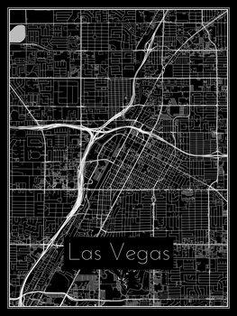 Mapa Las Vegas