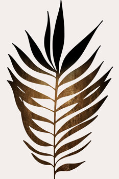 iIlustratie Leaf No.6 DARK GOLD