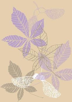 Obrazová reprodukce Leaves, 2013