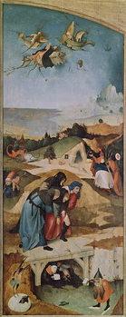 Umelecká tlač Left wing of the Triptych of the Temptation of St. Anthony