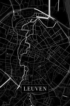 Kaart Leuven black
