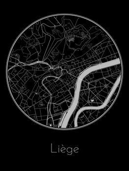 Mapa Liège