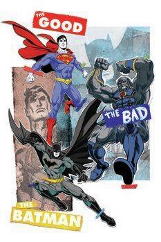 Poster de artă Liga dreptății - Battle for Justice