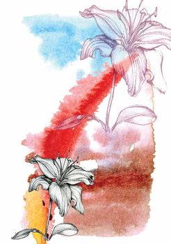 Reproducción de arte Lily