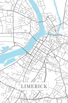 Mapa Limerick white