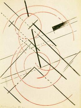 Obrazová reprodukce Linear Composition