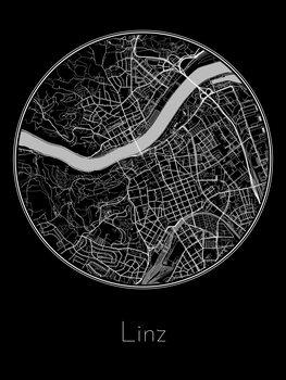 Mapa Linz