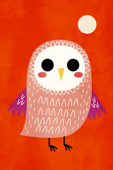 Ilustracija Little Owl