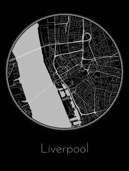 Mapa Liverpool
