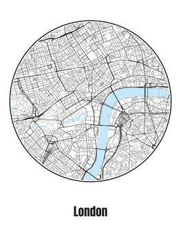 Kaart van London