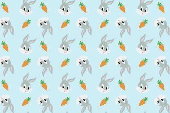 Εκτύπωση τέχνης Looney Tunes - Little Bugs Bunny