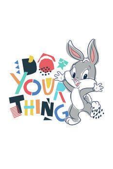 Plakat Looney Tunes - Little bunny