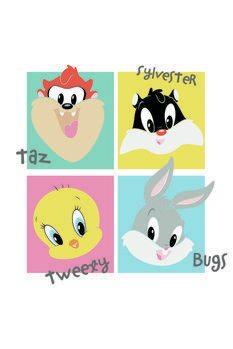 Kunstdrucke Looney Tunes - Mini Crew