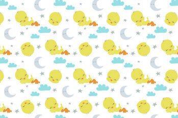 Εκτύπωση τέχνης Looney Tunes - Sleeping Tweety