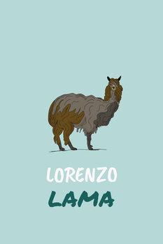 Ilustrace Lorenzo lama