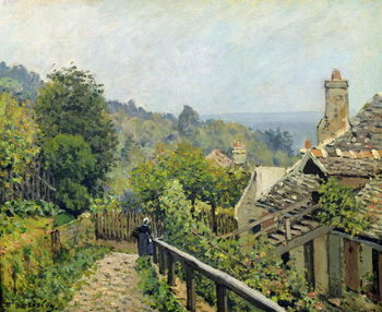 Obrazová reprodukce Louveciennes or, The Heights at Marly, 1873