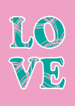 Ilustracja Love