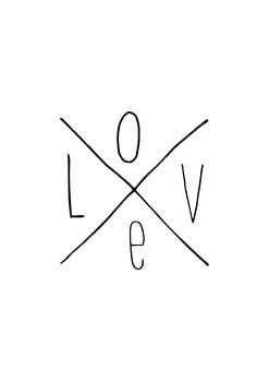 Illustration Love X